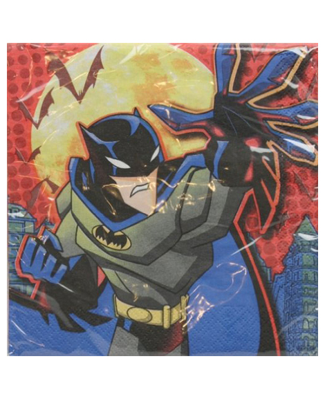 Batman Begins Lunch Napkins