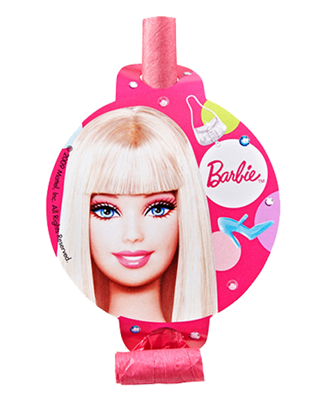 Barbie All Dolled Up Party Favor Blowouts