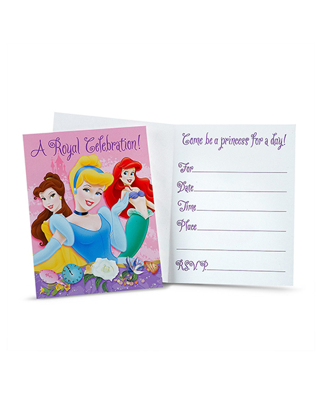 Disney Princess Dreams A Royal Celebration Invitations