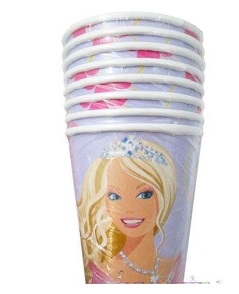 Barbie Perennial Princess 9 oz Paper Cups