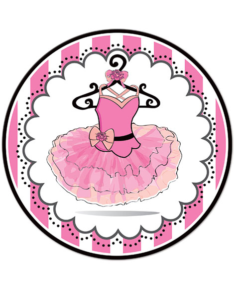 Ballerina Party Lunch Plates