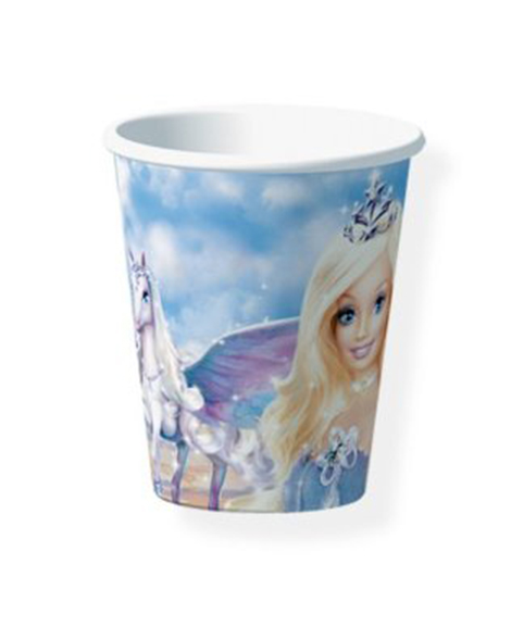 Barbie Pegasus 9 oz Paper Cups