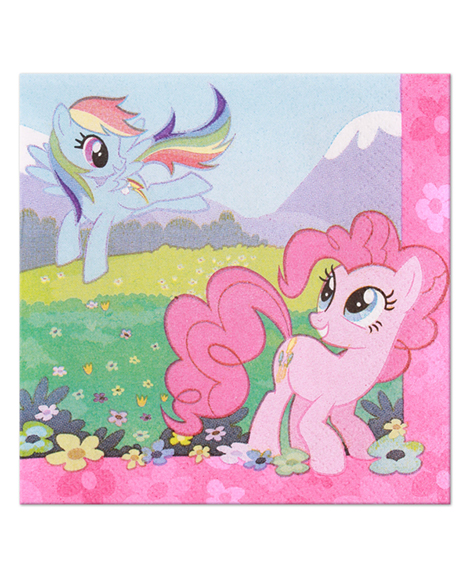 My Little Pony Friendship Beverage Napkins