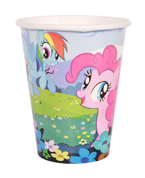 My Little Pony Friendship 9 oz Paper Cups