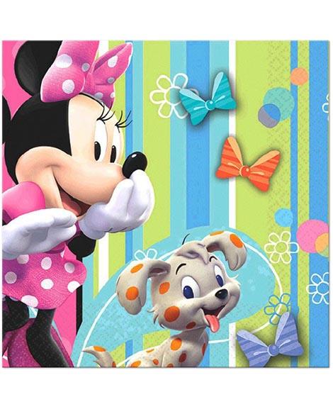 Minnie Mouse Bowtique Beverage Napkins