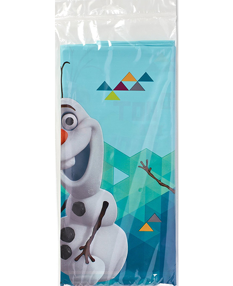 Olaf Frozen Plastic Table Cover