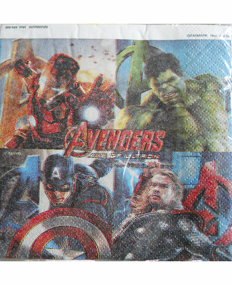 Avengers Age of Ultron Beverage Napkins