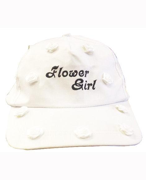 Flower Girl Bridal Bridal Embroidered Baseball Cap