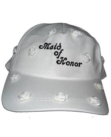 Maid of Honor Bridal Bridal Embroidered Baseball Cap