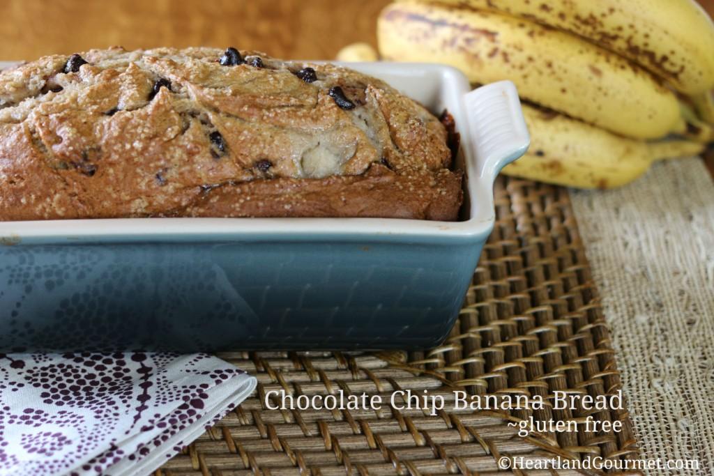 Chocolate Chip Banana Bread ~ HG