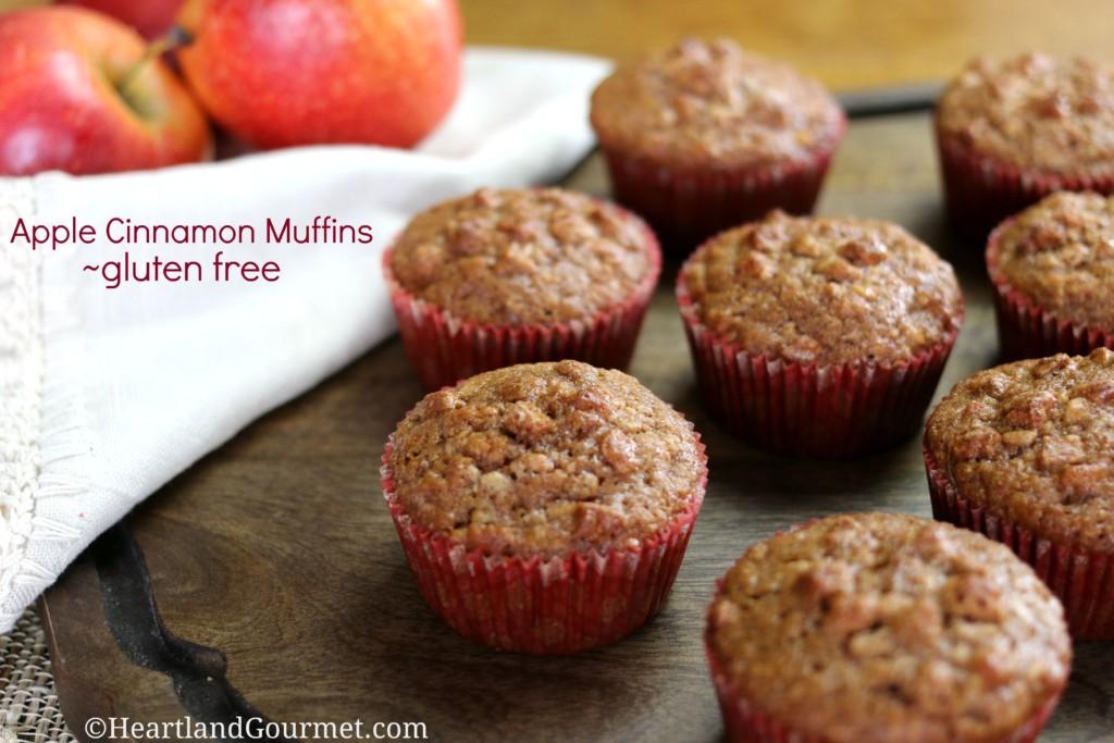 apple cinnamon muffins gluten free