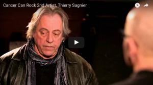Thierry Sagnier Featured Artist cancercanrock.org