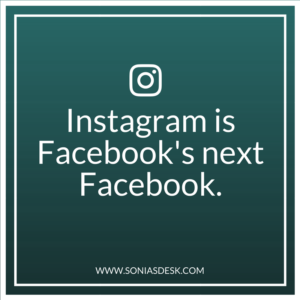 Instagram is Facebook's New Facebook