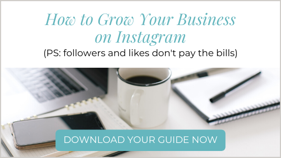 how to grow your business on instagram ebook