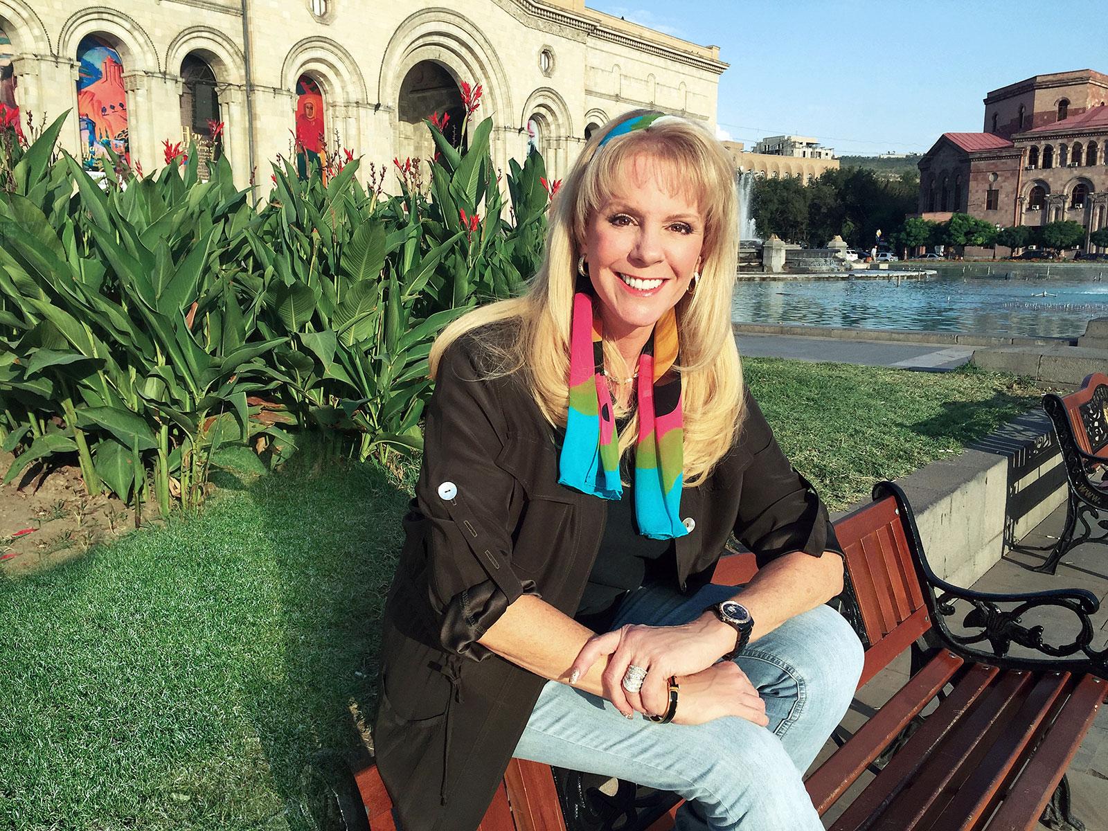 2nd Annual Armenian American Museum Gala Master of Ceremonies Laura McKenzie