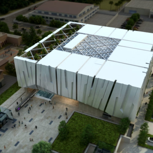 Armenian American Museum Aerial North to South