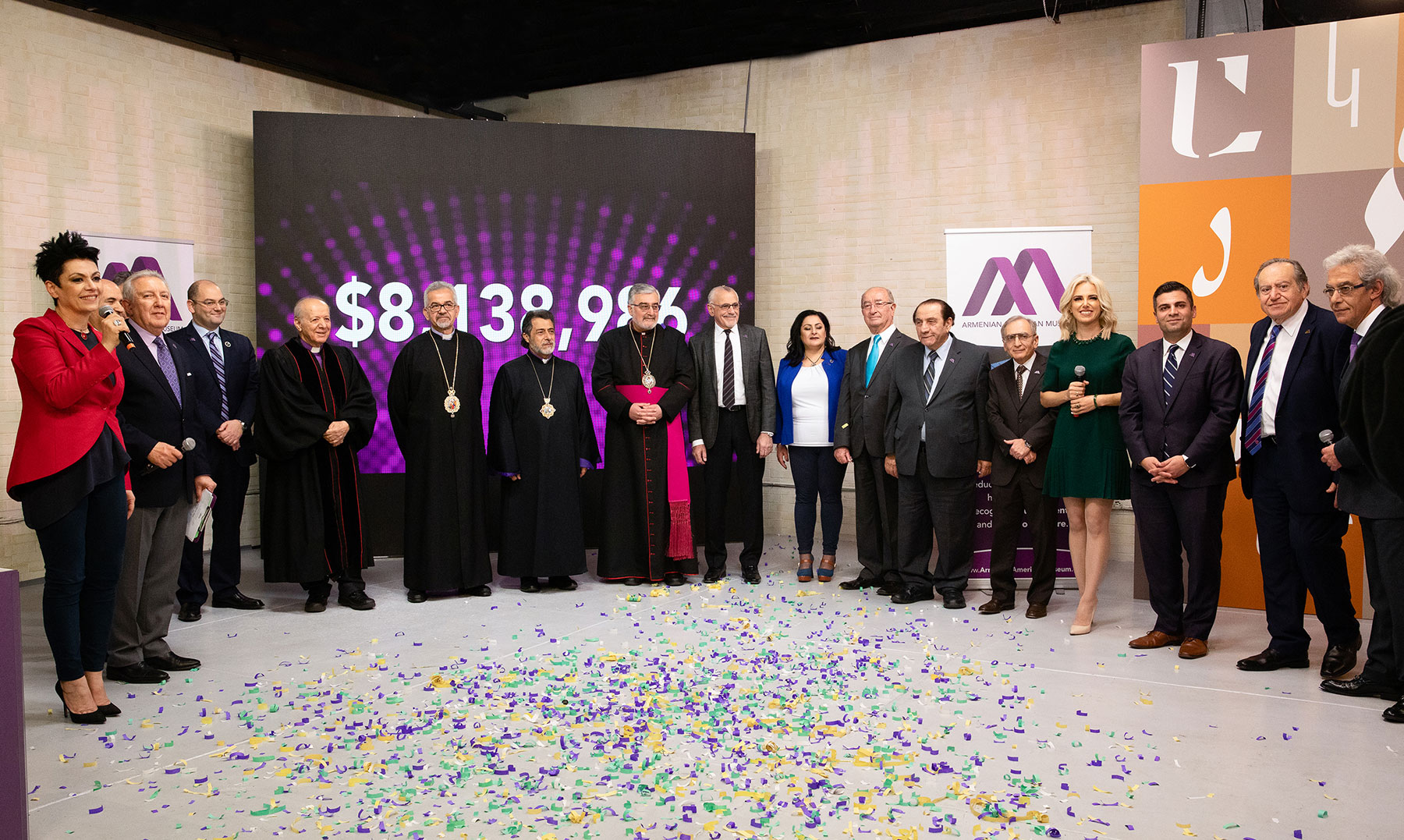 Armenian American Museum Announces $8.1 Million at Inaugural Telethon