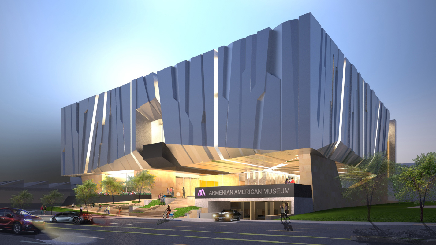 Armenian American Museum Concept Design Presented at Community Meeting