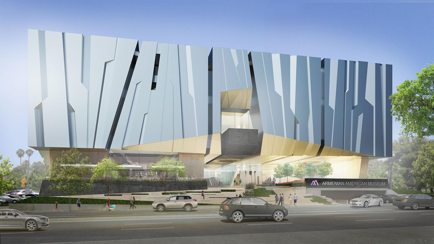 Armenian American Museum Concept Design