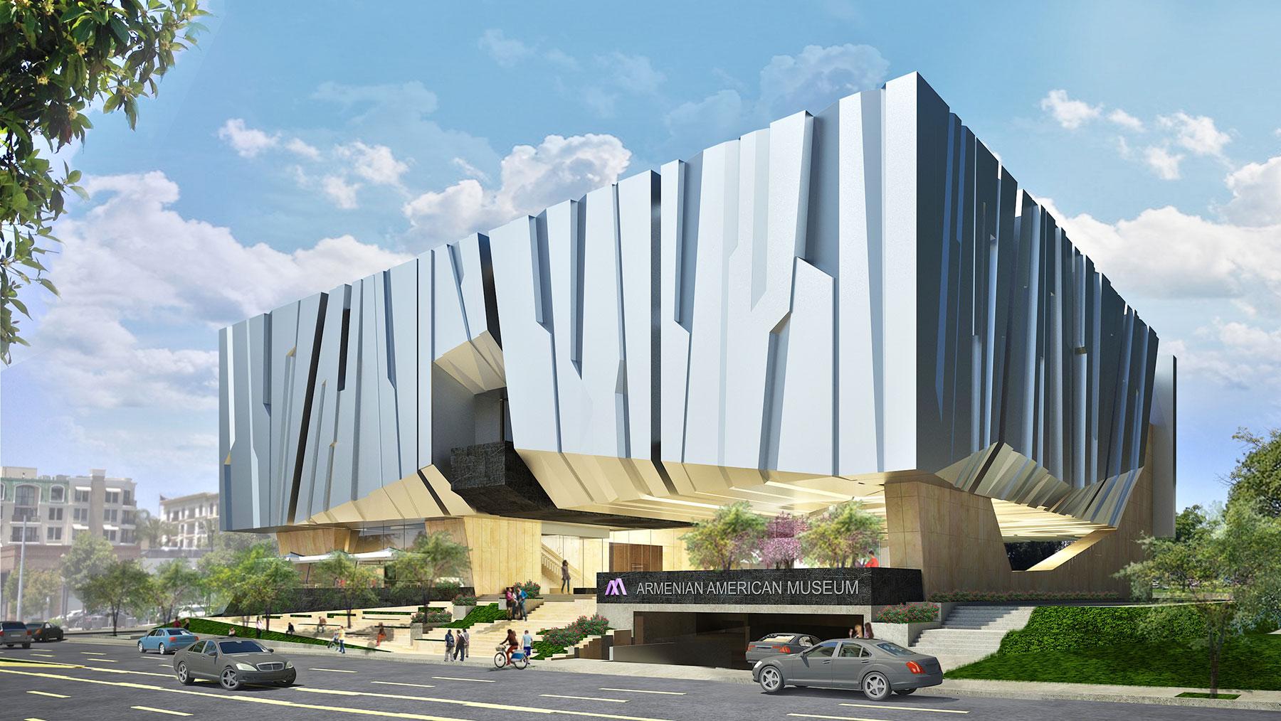 Armenian American Museum Exterior Profile