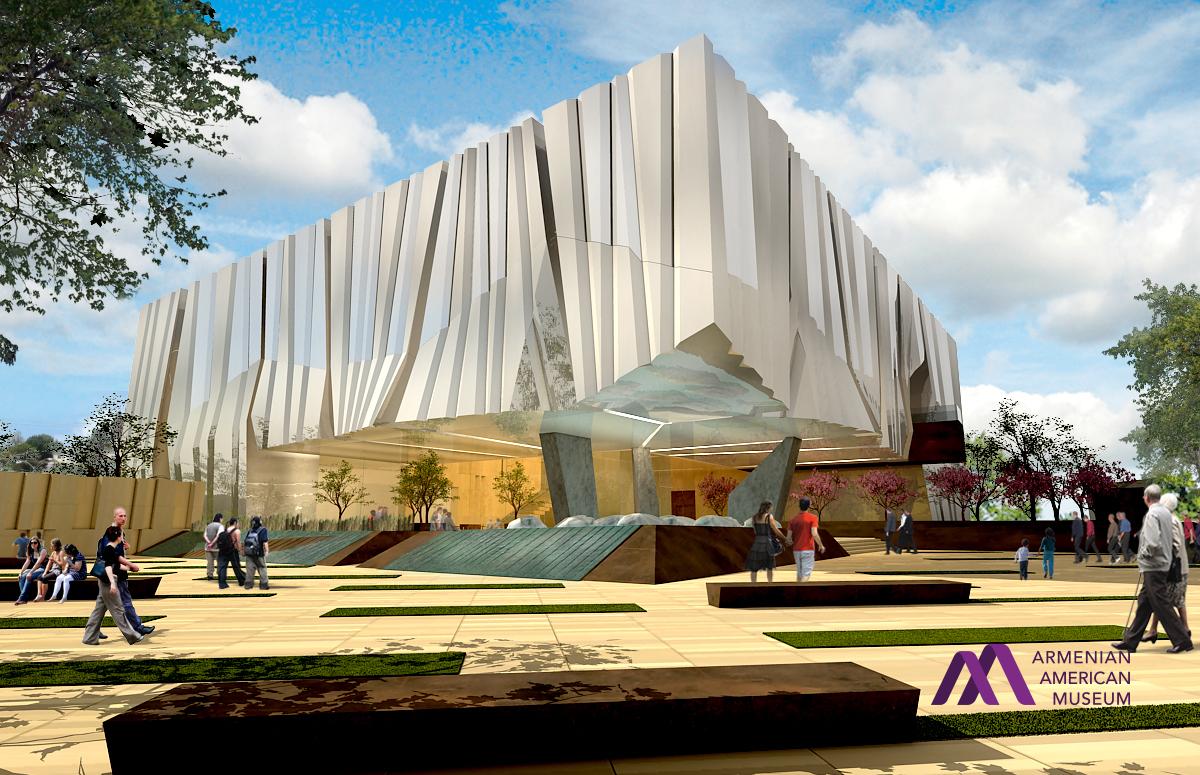 Armenian American Museum Exterior