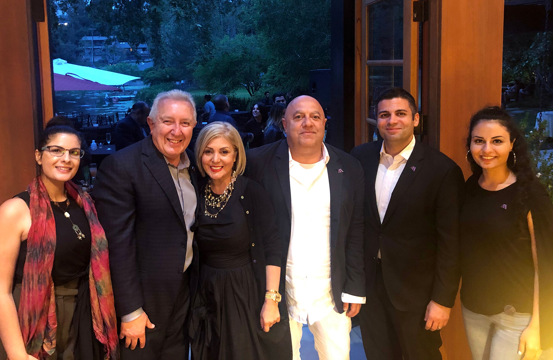 Armenian American Museum Founder's Circle Reception Hosted by Sako and Aida Gharakhani