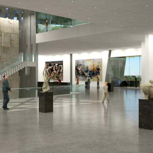 Armenian American Museum Gallery Exhibition Halls