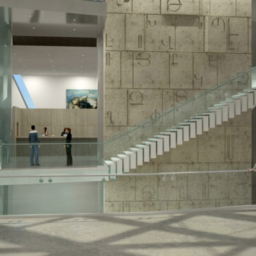 Armenian American Museum Interior