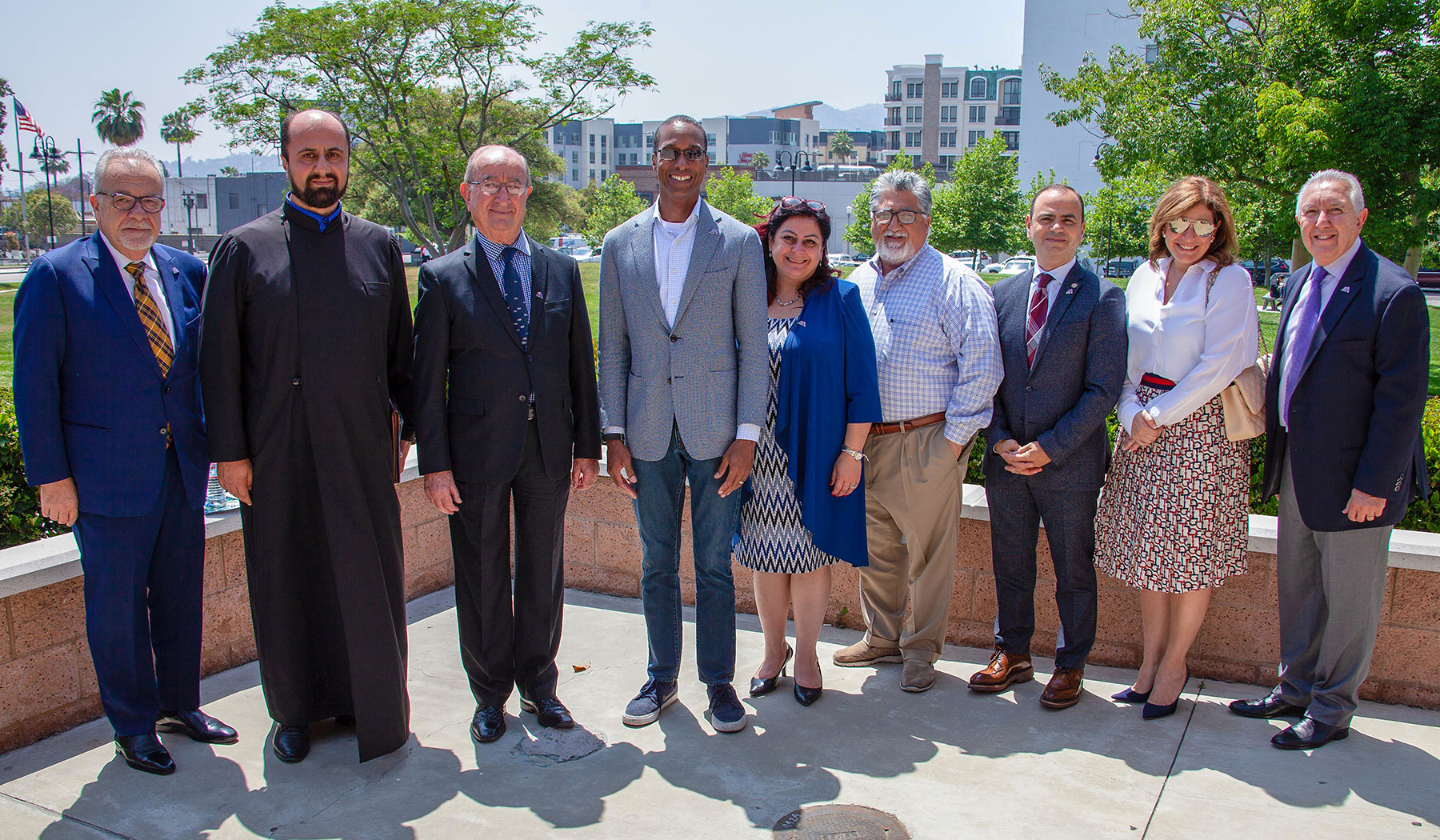 Armenian American Museum Meets with Governor's Office