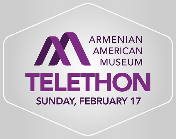 Armenian American Museum Telethon Logo