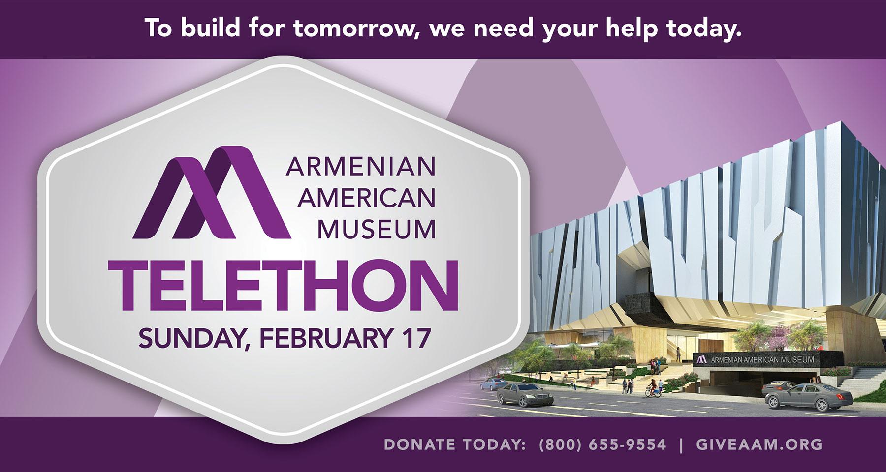 Armenian American Museum Telethon