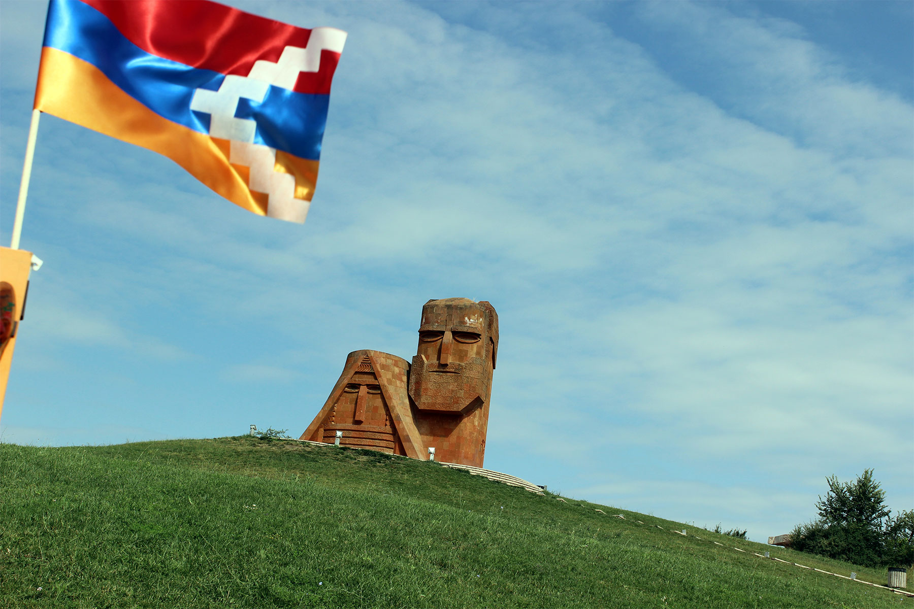 Artsakh We Are Our Mountains Monument