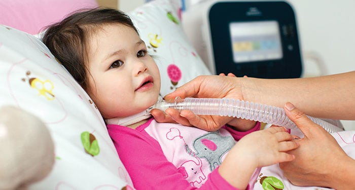 Child with medical_device
