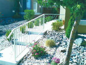 Outdoor Decorative Landscape Railing