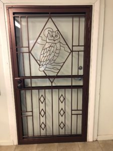 owl office door
