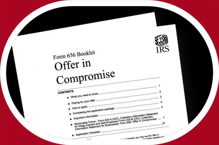 Offer in Compromise OIC– Settle Tax Debt With The IRS For Much Less Than You Owe!!!