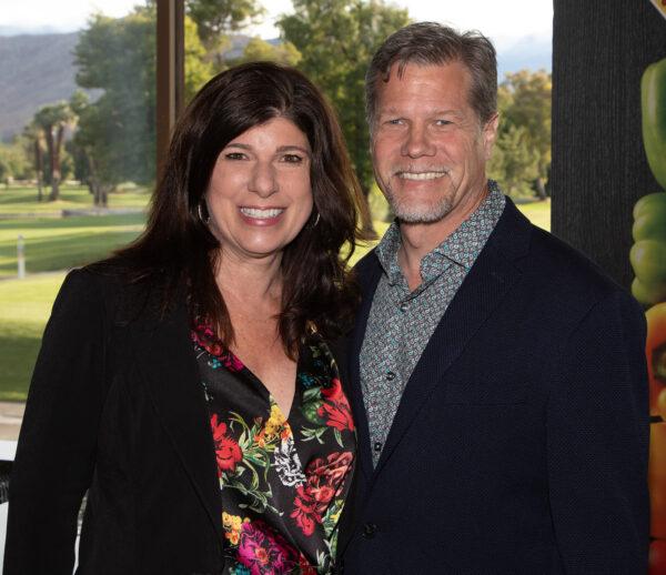 Deborah Tryon and Eric Burke