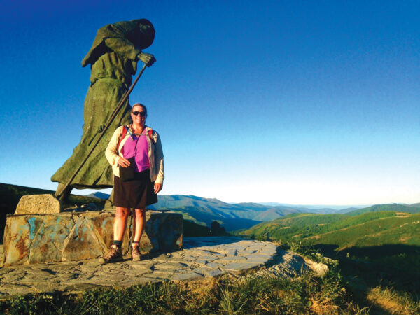 Author Jennifer Johnson on the Camino de Santiago