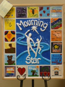 Tiles of emotional art come together for display at Mourning Star