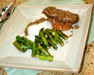 Spicy Indian Steaks