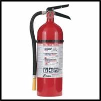 408-21005779 PRO 210 Consumer Fire Extinguishers, w/Wall Hanger, Class A, B, C, 4 lb Cap. Wt.