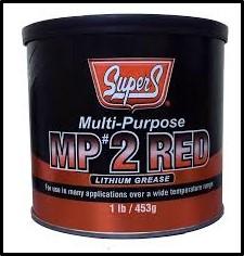 SUPER S MULTI-PURPOSE #2 LITHIUM GREASE