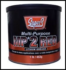 SUPER S MULTI-PURPOSE #2 LITHIUM GREASE