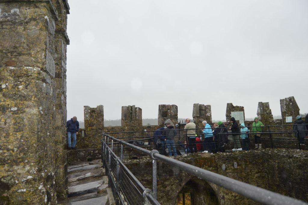 Kiss the Blarney Stone