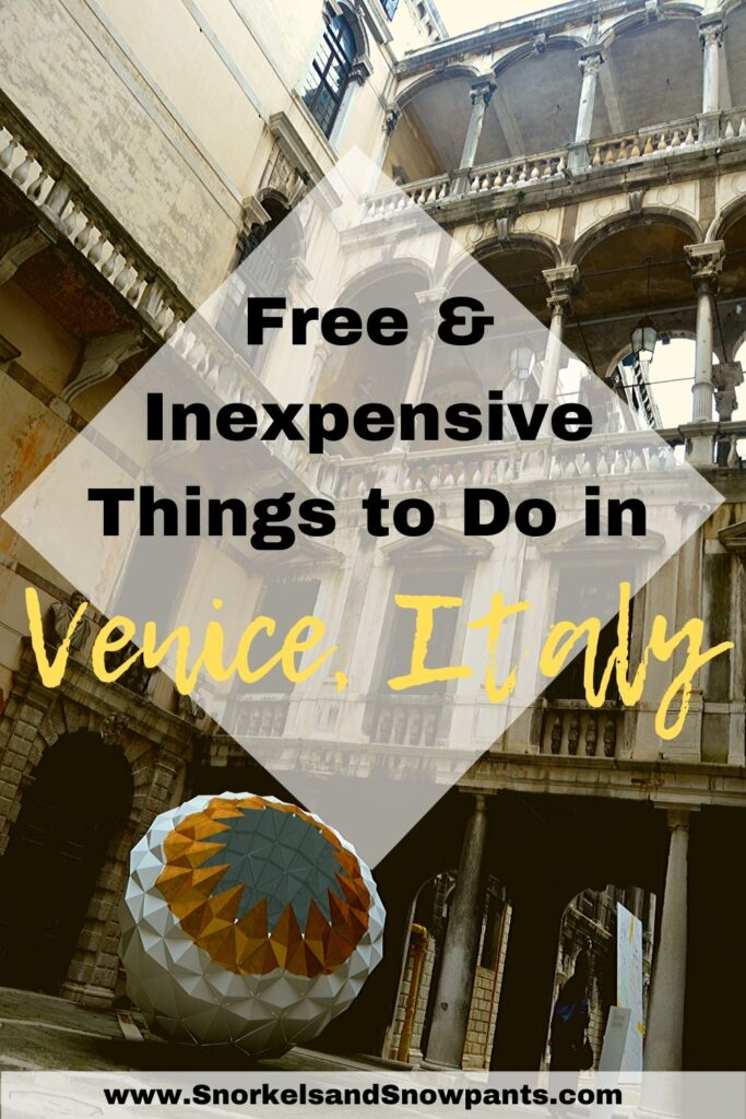 Free things to Do in Venice Italy