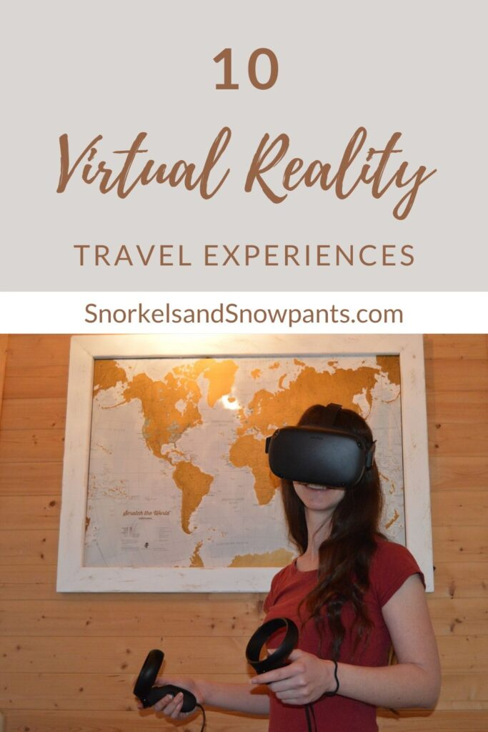 10 Virtual Reality Experiences