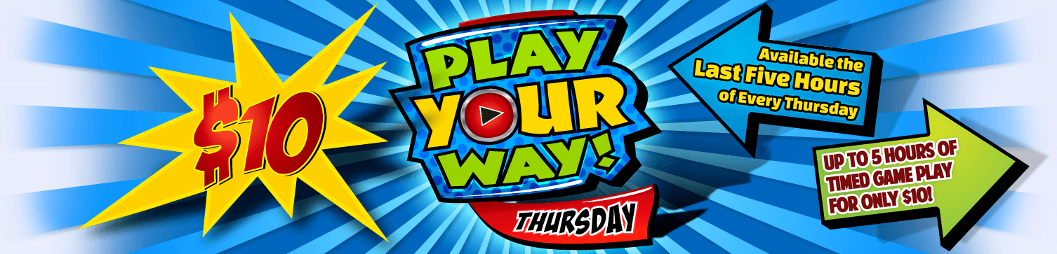 GameTime Play Your Way Promotion Miami Tampa Fort Myers