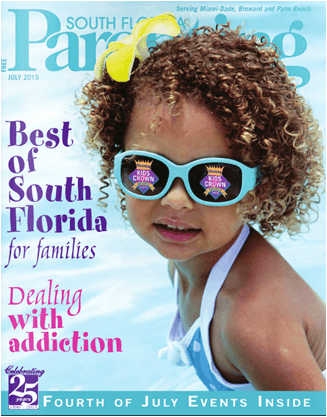 GameTime in South Florida Parenting Magazine Cover