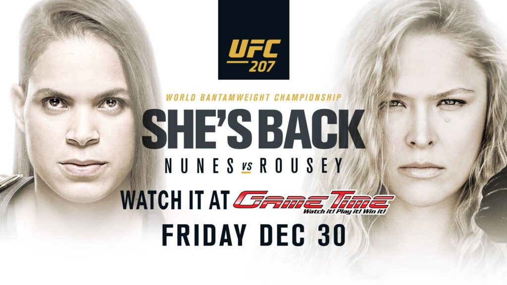 Watch-UFC-207-at-GameTime-no-cover-Nunes-vs-Rousey