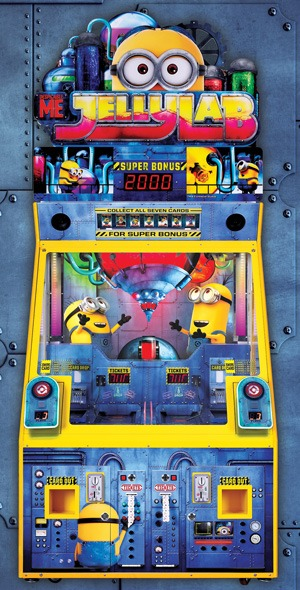 Despicable Me Jelly Lab Minions